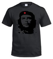 guevara do che camisetas venda por atacado-Che Guevara Silhueta Silhueta Icônica Retro Revolução Política Cuba S-5XL top tamanho discout hot new tshirt manga curta Plus Size t-shirt