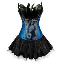 unterwäsche bar großhandel-Brautkleid Brautjungfer Kleid Halloween Kleider Bar Nachtclub Kragen Kostüm Kostüm Sexy Queen Erotische Unterwäsche Korsett