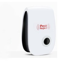 Wholesale electronic rat insect resale online - EU US Enhanced Version Electronic Cat Ultrasonic Anti Mosquito Insect Repeller Rat Mouse Cockroach Pest Reject Repellent EU US