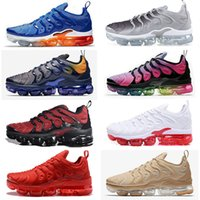 Wholesale updated sneakers for sale - Group buy Updated TNs Plus shoes Hyper Blue Sunset BETRUE Fades Blue Game Royal WOLF GREY Red Black Orange mens designer shoes women sports sneakers