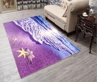 Wholesale absorbing mat resale online - 3D Printing Carpet Hallway Doormat Anti Slip Bathroom Carpet Absorb Water Kitchen Mat Rug cm