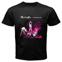 Wholesale buy white tees for sale - Buy Shirts Online Office Men O Neck Short Sleeve Three Days Grace Tee