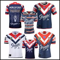 5a200f9edf2 2019 GRAND FINAL SYDNEY ROOSTERS MENS PREMIERS Home rugby Jersey NRL  National League Australia Sydney Roosters rugby Jerseys shirt