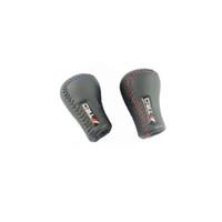 düğme kolu toptan satış-TRD Evrensel PU Deri Vites Topuzu Vites Çubuk İçin değiştiren Lever Shift