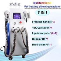 gefrorene haut großhandel-Hi-Tech Cryolipolysis Maschine Fett Einfrieren Cavitacion Lipolaser Abnehmen RF Skin Lift multifunktionale Cryolipolysis Körperformung Ausrüstung