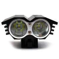 m2 montiert großhandel-LED T6 M2 Fahrradbeleuchtung, zwei Lichter Eulen, starkes Licht, das Frontscheinwerfer auflädt. # 754173