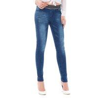 jeans gris femmes élastiques achat en gros de-2019 femmes femmes élastiques taille haute bleu gris pantalon taille décontractée skinny crayon jean denim jeans femme pantalon longueur veau