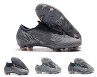 Wholesale mercurial vapor soccer boots for sale - Group buy New Arrival Mens Mercurial Vapors Fury XIII Elite FG Football Shoes Flexible Superfly VI Indoor Soccer Cleats Boots