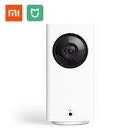 güvenlik hdd toptan satış-Orijinal Xiaomi Mijia Dafang Akıllı Kamera 1080 p HD Xiaofang Akıllı Güvenlik WIFI IP Kam Nightshot 120 Derece Geniş Açı