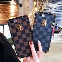 fertigen sie fliptelefonkasten besonders an großhandel-Luxus-Designer-Handytaschen Samsung S8 / S8Plus Note8 Note9 S9 PLUS S10 S10 PLUS Mobile Shell