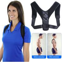 Brace Support Belt Adjustable Back Posture Corrector Clavicle Spine Back Shoulder Lumbar Posture Correction Body Support Corrector
