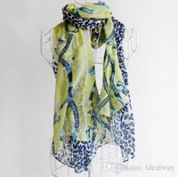 Wholesale scarf korea style resale online - 100 silk scarf Fashion Accessories New Coming Korea Style Cotton Scarves Blends belt leopard Scarf Shawl