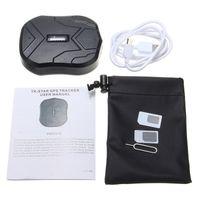 Wholesale tkstar gps tracker resale online - TKSTAR Waterproof GPS Tracker TK905 for Car Truck Van Real Time Location PS110 DHL UPS
