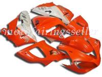 laranja r1 venda por atacado-3 Brindes Novo ABS Fairing Fit Kits para a Yamaha YZF-R1 00 01 YZF1000 2000 2001 R1 carenagens carroçaria conjunto personalizado Laranja Branco