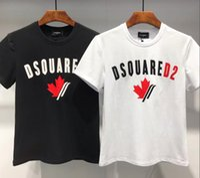 vintages hemd schlank großhandel-2019 Sommer New Kanada Druck T-Shirt Männer Slim Fit Mode 100% Baumwolle Vintage DS2 T-Shirts Hohe Qualität Kleidung DT450