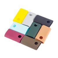 vape mod fällen taschen großhandel-GLO Silikonhüllen Silikon Skin Tasche Gummihülle Schutzhüllen Haut für GLO Box Mod E Zigarette Vape mit 8 Farben DHL