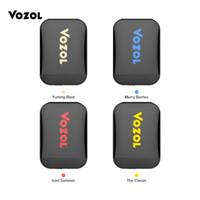 Wholesale battery protection circuit resale online - VOZOL D2 Disposable Pod Kit Dual FLAV0RS in Device mAh Short Circuit Protection Battery Dual Coil Design puffs