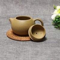 yixing teekanne gesetzt großhandel-Zisha Teekanne Berühmte Kung Fu Teeservice Yixing Handgemachte Topf Tasse Set 280 ml Keramik Chinesische Top Qualität Teezeremonie Geschenkverpackung
