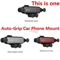 handy-griff für auto großhandel-Universal Autotelefonhalter Air Vent Car Mount Schwerkraft Auto-Grip Autotelefonhalter für iPhone / LG / Huawei Dies ist ein Handyhalter