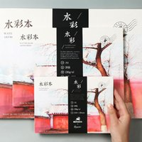 Wholesale art painting books for sale - Group buy 230g A3 A4 A5 Professional Watercolor Paper Sheets Hand Painted Creative water color Drawing book art supplies