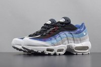 Wholesale air running 95 for sale - Group buy hococal Fashion air cushion shoes men s sports black and white ladies coach sports casual fashion sports walking training