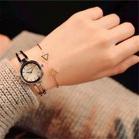 свадебные наручные часы оптовых-Новая мода из нержавеющей стали Lady Часы розовое золото бриллиант часы сплава Специальный конструктор для женщин Наручные часы свадебного банкета