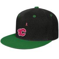 göğüs topları toptan satış-Calgary Flames pembe meme kanseri Unisex Erkekler Kap Kadın Şapka Ayarlanabilir Pamuk Snapback Erkekler için Flatbrim Açık Şapkalar Topu Kap