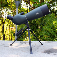 ingrosso spotting scope-Spotting Scope Telescope Zoom 25-75X 70 millimetri impermeabile Birdwatch Caccia monoculare universale Phone Adapter Mount T191022