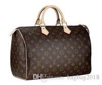 nuevo equipaje al por mayor-Estilo de la venta caliente más nuevos hombres mujeres bolsa de viaje bolsa de lona diseñador de la marca bolsos de equipaje medio equipaje bolso entrega gratuita