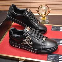 ingrosso zapatos più la dimensione-2019 Scarpe da uomo Lace-up Plus Size Chaussures versare hommes Lo-Top Sneakers di alta qualità Originale uomo Scarpe in pelle di grandi dimensioni Zapatos de hombre