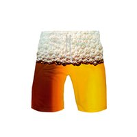 Wholesale beer board for sale - Group buy Beer day D Printed male summer shorts New Casual Cool summer beach shorts male Hot sales cute board plus size xl