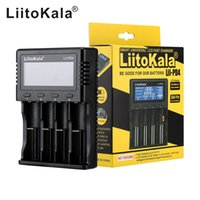 мобильные зарядные устройства china оптовых-LiitoKala Lii-Lii PD4-PL4 S1 S2 S4, зарядное устройство для батареи 18650 26650 21700 18350 AA AAA 3.7V / 3.2V / 1.2V / 1.5V литиевая батарея NiMH