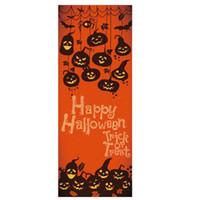 Wholesale abstract glasses paintings resale online - Halloween Decor Door Sticker Living Room Bedroom DIY Mural PVC Self Adhesive Wall Painting Door Wallpaper