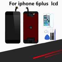 ingrosso kit di riparazione lcd iphone-Compatibile per iPhone 6 Plus Schermo sostitutivo Display LCD da 5,5 pollici Digitizer Frame Assembly Kit completo di riparazione
