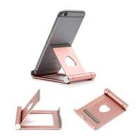 ingrosso portatile mobile-Nuovo Z8 Mobile Phone Supporto da scrivania in alluminio Supporto metallico per iPhone iPad Mini Samsung Smartphone Tablet laptop