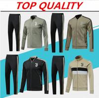 camisas de futebol ronaldo venda por atacado-qualidade superior 2018 2019 Juventus camisas de futebol treino 18 19 camisola RONALDO HIGUAIN DYBALA MANDZUKIC jaqueta de futebol chandal