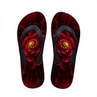 Wholesale sandals flipflops for sale - Group buy Customized Fashion Women Slippers Hot Sale Floral Flip Flops for Woman Summer Beach Rubber Sandals Female Flipflops Flat Shoes