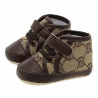 kumaş ayakkabı bebekler toptan satış-Bebek ayakkabıları İlk walkers Bebek Pamuk Kumaş Erkek Kız Ayakkabı Yumuşak Taban Ayakkabı Yenidoğan Bebek Ayakkabı 0-18Mos