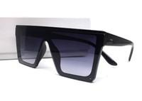 sombras uv venda por atacado-Itália Design Medusa New Oversize Quadrado Quadro Homens Mulheres Óculos De Sol De Verão Ao Ar Livre Do Vintage Shades Moda Óculos de Proteção UV Com Caixa