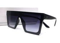 uv gözlük toptan satış-İtalya Tasarım Medusa Yeni Boy Kare Çerçeve Erkek Kadın Güneş Gözlüğü Yaz Açık Bağbozumu Tonları Moda UV Koruma Gözlük Kutusu Ile