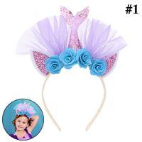 Wholesale mermaid fashion accessories for sale - Group buy Fashion Hair Hoop Decorative Lovely Party Headband Gold Mermaid Headband Beach Theme Party Hair Accessories For Kids