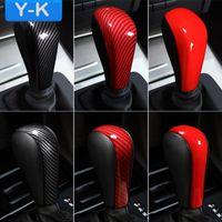 ingrosso bmw vecchio-Car Styling Bmw ABS Gear Cutch Shift Cover Case Decorazione Sticker Emblem Decal per BMW E90 E92 E93 E60 Old 3 serie 5 serie X3 X5 Z4