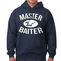 Wholesale red white lures for sale - Group buy MaArriveer Baiter Funny Shirt Fish Gift Idea Sporting Good Lure Hoodie
