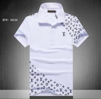 g стиль одежды оптовых-24 стили G * * ci дизайнер высокого качества печати футболки для мужчин женщин с коротким рукавом хлопок Poloshirts футболки дышащий Tee clothing