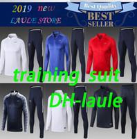 ingrosso track star-Star Thai 2018 Francia Tuta da calcio PAYET POGBA FRANCH Giacca da pista 2018 19 GRIEZMANN chandal training suits sports wear