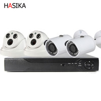 Wholesale poe cctv kit for sale - Group buy 4 Ch POE kits Channel NVR and Dome and Bullet POE Camera HD IP PoE Indoor mm Fixed Lens Cameras with IR Night Vision LEDs Home CCTV