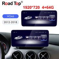 Wholesale gps multimedia car stereo android resale online - 10 quot Android Navigation display for Mercedes Benz B Class W246 Car touch screen GPS stereo dash multimedia player Radio
