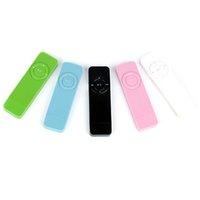 musicais mp3 venda por atacado-1 Pc 8.5 cm * 2.5 cm * 1 cm esportes musical portátil MP3 player walkmanmusic MP3 player suporte TF cartão