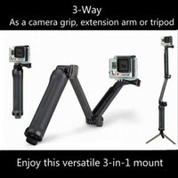 Wholesale Outlets Sale Way Grip Waterproof Monopod Selfie Stick For Gopro Hero Black Session SJ4000 Xiaomi Yi K Camera Tripod Accessory