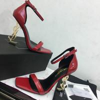 ingrosso scarpe da ginnastica europee-Sandali in pelle di alta qualità stazione europea scarpe da ginnastica piatte scarpe casual tacchi alti 35-41 fabbrica diretta spedizione gratuita